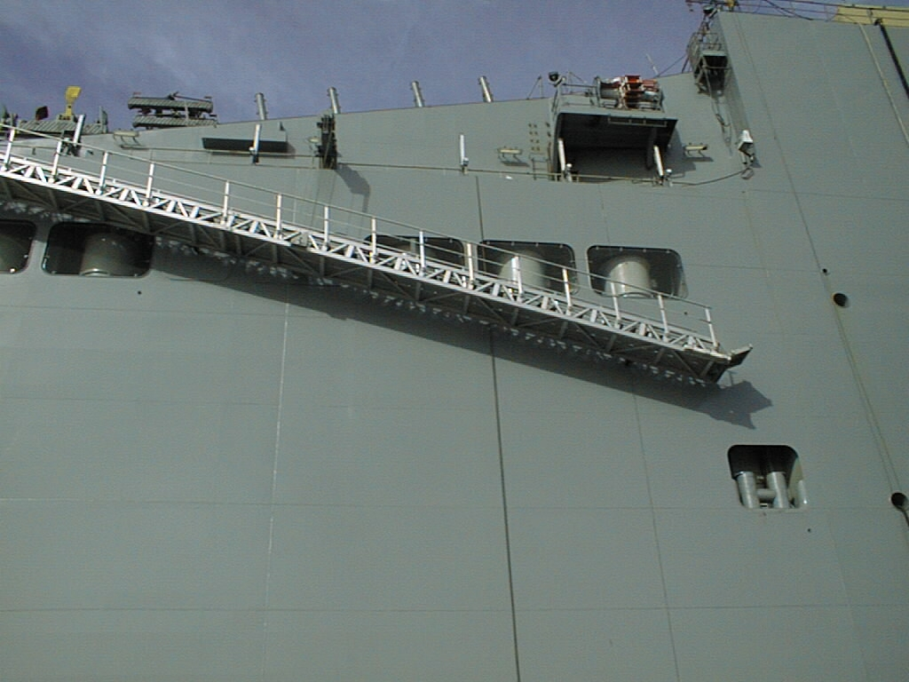 Accommodation Ladders Gangway Marine Gmg Systems Schoellhorn